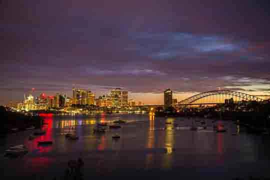 australien online visum
