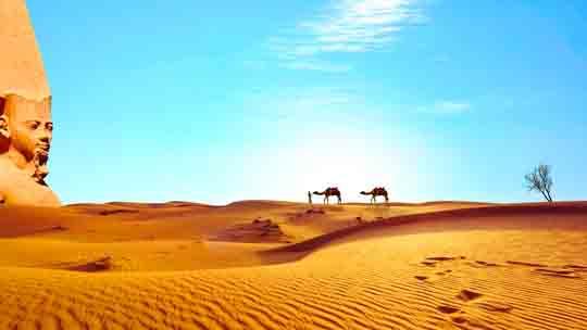 visum in Ägypten am flughafen